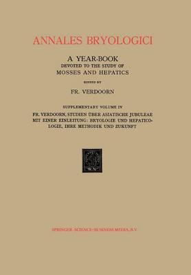Studien Über Asiatische Jubuleae, De Frullaniaceis Xv-xvii Mit Einer Einleitung