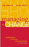 Managing for Change