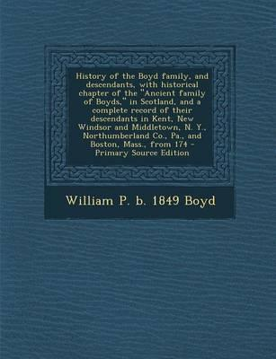 History of the Boyd Family, and Descendants