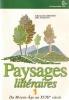 Paysages littéraires - vol.1