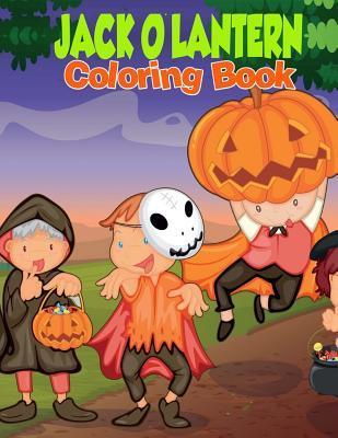 Jack O'lantern Coloring Book