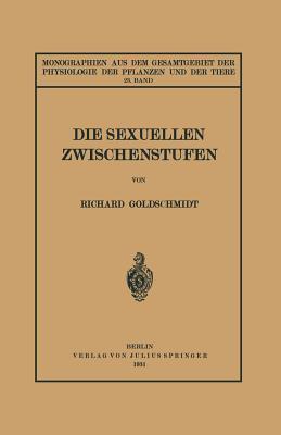 Die Sexuellen Zwischenstufen