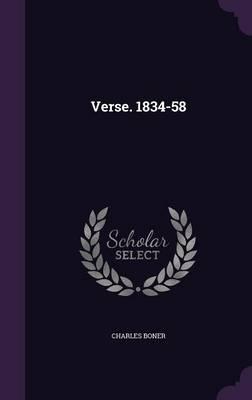 Verse. 1834-58
