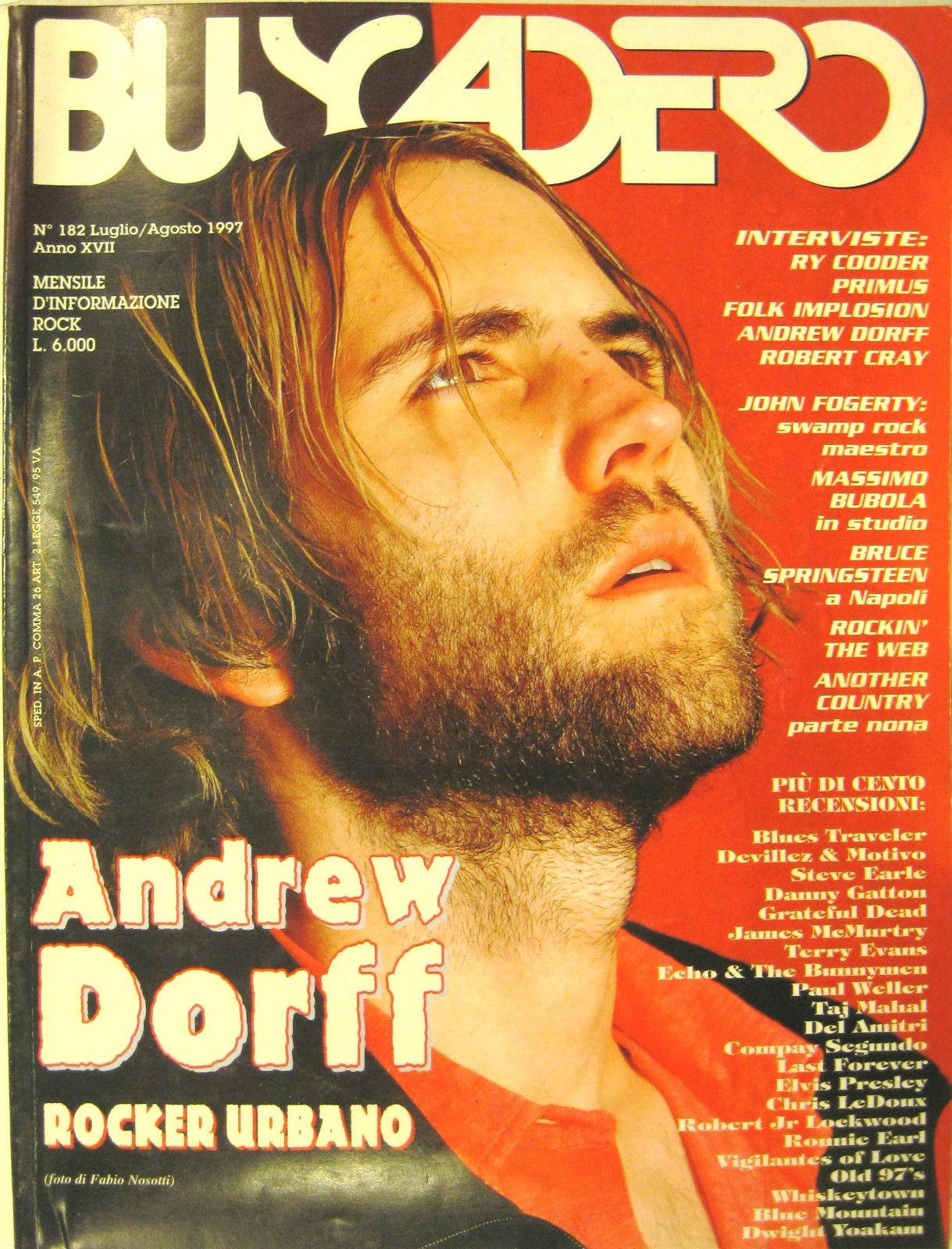 Buscadero n. 182 (luglio/agosto 1997)