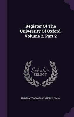 Register of the Univ...