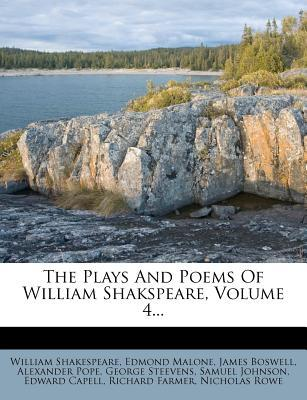 The Plays and Poems of William Shakspeare Volume 4