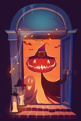 Halloween at the Door Grid Notebook