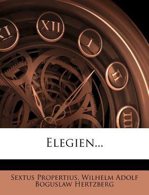 Elegien.