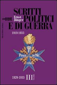 Scritti politici e di guerra