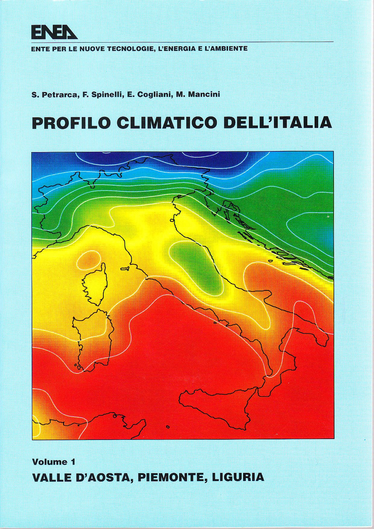 Profilo climatico dell'Italia / Valle d'aosta, Piemonte, Liguria