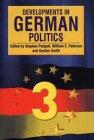 Developments in German Politics 3