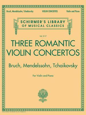 Three Romantic Violin Concertos