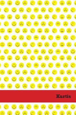 Etchbooks Kurtis, Emoji, College Rule, 6 X 9', 100 Pages