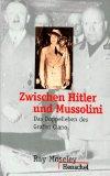 Zwischen Hitler und Mussolini.
