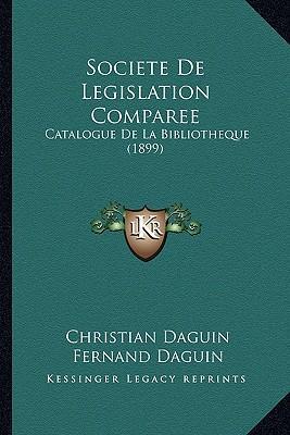 Societe de Legislation Comparee