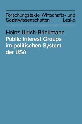 Public Interest Groups Im Politischen System Der USA