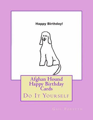 Afghan Hound Happy B...