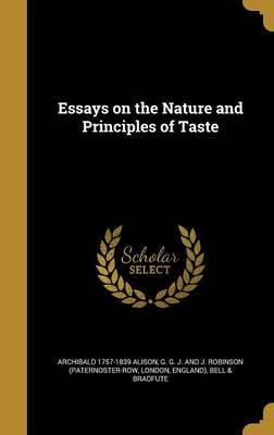 ESSAYS ON THE NATURE & PRINCIP