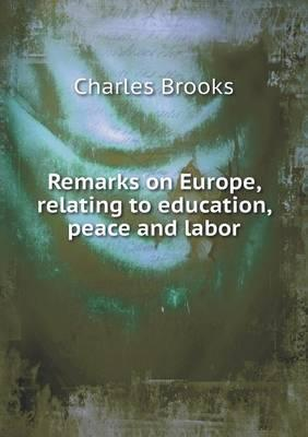 Remarks on Europe, R...