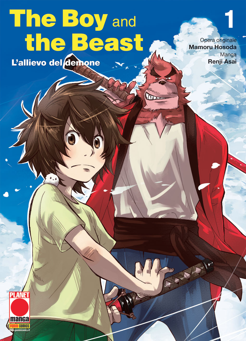 The Boy and the Beast: L'allievo del demone vol. 1