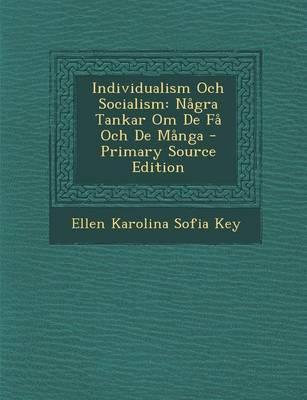 Individualism Och So...