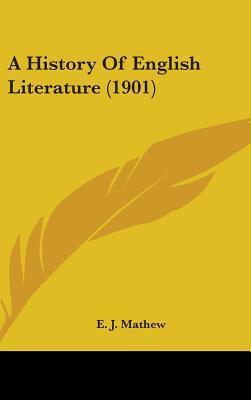 A History of English Literature (1901)