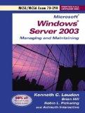 70-290 MCSE Guide To Managing A Microsoft Windows Server 2003 Environment