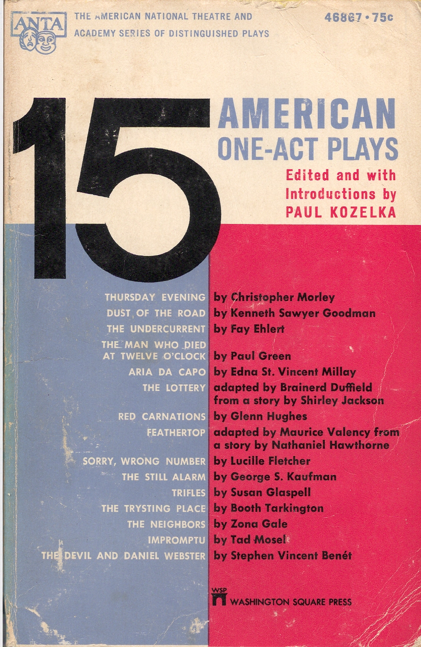 15 american one-act ...