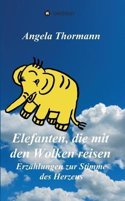 Elefanten, die mit den Wolken reisen