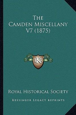 The Camden Miscellany V7 (1875)