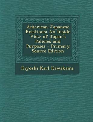 American-Japanese Relations