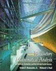 Introductory Mathematical Analysis for Business, Economics and the Life and Social Sciences