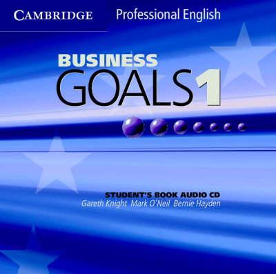 Business Goals 1 Audio CD