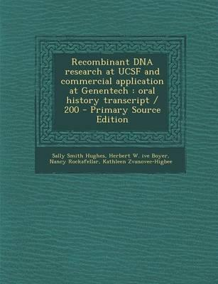 Recombinant DNA Rese...