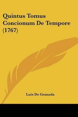 Quintus Tomus Concio...