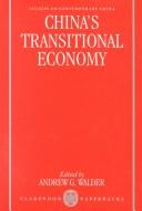 China's Transitional Economy