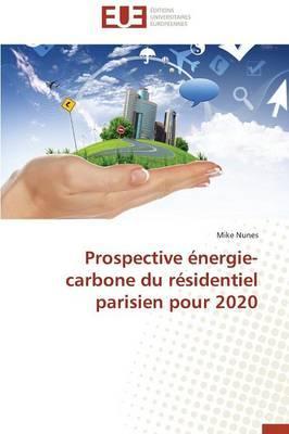 Prospective Energie-Carbone du Residentiel Parisien pour 2020