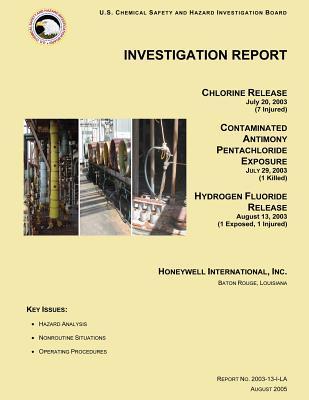 Investigation Report Chlorine Release July 20, 2003 7 Injured