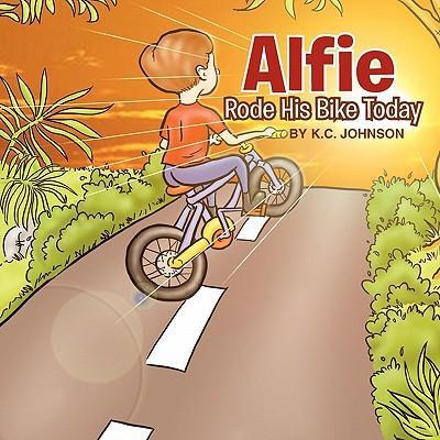 Alfie Rode His Bike Today