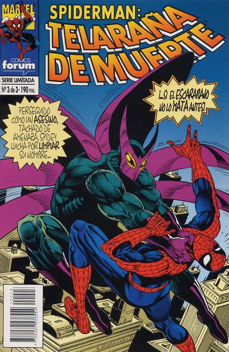 Spiderman: Telaraña de muerte #3 (de 3)