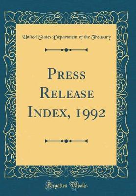 Press Release Index,...
