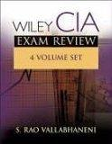 Wiley CIA Exam Review, Volumes 1-4 Set