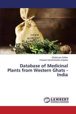Database of Medicinal Plants from Western Ghats - India