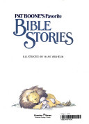 Pat Boone's favorite Bible stories