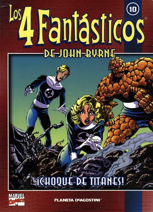 Coleccionable Los 4 Fantásticos de John Byrne #10 (de 25)