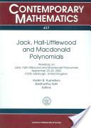 Jack, Hall-Littlewood, and Macdonald Polynomials