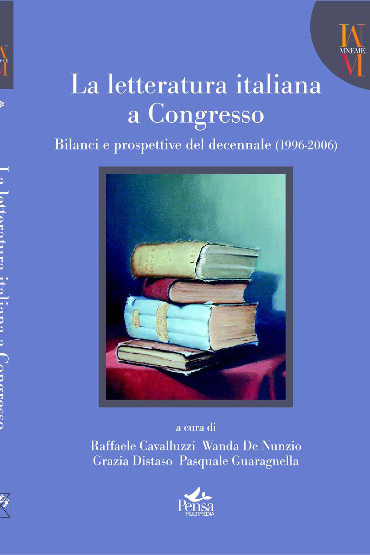 La letteratura italiana a congresso