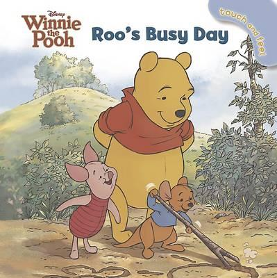 Disney Winnie the Pooh Roo's Busy Day - Touch and Feel