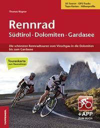 Rennrad Sudtirol, Dolomiten, Gardasee. Con cartina. Con app
