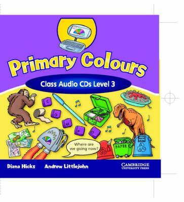 Primary Colours 3 Class Audio CD